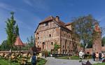 Tangermünde, Burggelände mit sog. Kanzlei Karl V. und Gefängnisturm