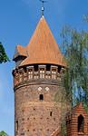 Tangermünde, Burggelände, Gefängnisturm