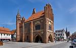 Tangermünde, Altes Rathaus von Süd Osten
