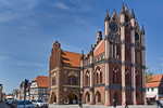 Tangermünde, Altes Rathaus, Ostflügel (1430, Hinrich Brunsberg), südl. Flügel von 1480