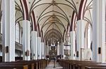 Tangermünde, Stephanskirche, Längsschiff nach Osten