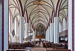 Tangermünde, Stephanskirche, Längsschiff nach Westen
