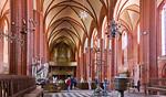 Werben, Johanniskirche, Innenraum nach Westen