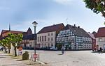 Werben, Blick vom Markt zur Johanniskirche