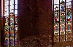 Werben, Johanniskirche, Fenster nördl. Langhaus nVIII und nVII