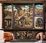Annaberg, Sankt Annen, Altar der Bergknappschaft (Rückseite, Hans Hesse, 1521)