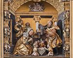 Annaberg, Sankt Annen, Altar der Bergknappschaft (Vorderseite, 1521)