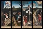 Schneeberg, St. Wolfgang, Hauptaltar aus Werkstatt L. Cranach d.Ä., Alltagsseite (1539)