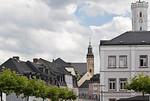 Schneeberg, Blick auf Wolfgangskirche