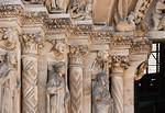 Freiberg, Dom. Goldene Pforte, linkes Gewände
