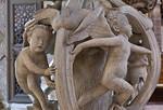 Freiberg, Dom. Tulpenkanzel, Detail
