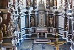 Freiberg, Dom. Blick in kurfürstliche Begräbniskapelle