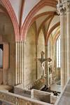 Meißen, Dom. Blick von Empore über Lettner in Chor