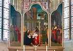 Meißen, Dom. Chor: Hochaltar mit Anbetung (Ende 15. Jh.)