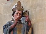 Meißen, Dom. Chor: Bischof Donatus, Detail (um 1265)