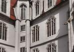 Meißen, Albrechtsburg. Fassade von Westen, Detail
