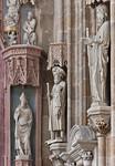 Meißen, Dom. Fürstenkapelle, Bischof Donatus und Apostel