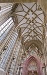 Meißen, Dom. Fürstenkapelle, Gewölbe und Westportal