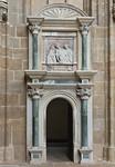 Meißen, Dom. Fürstenkapelle: Eingang zur Georgskapelle (1524)