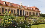 Barockgarten Großsedlitz, oberes Parterre mit oberer Orangerie (Heidenau)