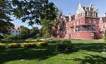 Muskau, Unterpark, Altes und Neues Schloss