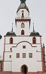Rochlitz, Kunigundenkirche von Westen