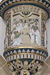 Torgau, Schloss Hartenfels, Schlosskapelle, Kanzel: 12-jähriger Jesus im Tempel (1544)