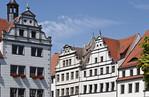 Torgau, Marktplatz, Nordwestecke
