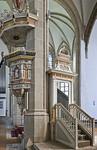 Torgau, Marienkirche, Kanzel (1582)