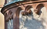 Wechselburg, ehem. Augustinerchorherrenstift. Ostpartie, Detail