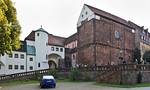 Wechselburg, ehem. Augustinerchorherrenstift von Nordwesten