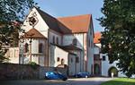 Wechselburg, ehem. Augustinerchorherrenstift von Osten