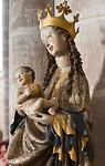 """Arnstadt, Liebfrauenkirche, """"Schöne Madonna"""", Detail"""