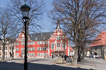 Arnstadt, Markt mit Rathaus (1583)