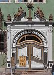 Arnstadt, Haus zum Palmbaum (1593), Portal