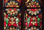 Erfurt, Augustinerkirche, nördl. Fenster in Ostwand (1310)