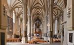 Erfurt, Dom, Blick nach Westen