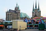 Erfurt, Rummel mit Dom und Severikirche