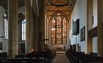 Erfurt, Augustinerkirche nach Osten