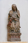 Erfurt, Barfüßerkirche, Pieta (Meister des Severisarkophags, 1370)