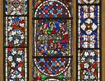 Erfurt, Barfüßerkirche, Christus-Fenster (1240)