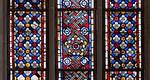 Erfurt, Predigerkirche, Teppichmusterfenster (1280)