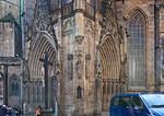 Erfurt, Dom, Triangel von Nord, (1330)