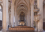 Erfurt, Severikirche, Blick nach Westen