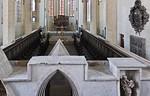 Erfurt, Predigerkirche, Blick vom Lettner in den Chor