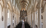 Erfurt, Predigerkirche, Blick vom Lettner nach Westen