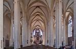 Erfurt, Severikirche, Blick nach Osten