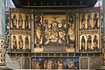 Mühlhausen, Marienkirche, Hochaltar, nach 1525, Predella vor 1500