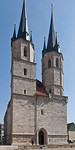 Mühlhausen, Jakobikirche, Westfassade