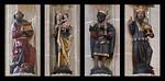 Mühlhausen, Marienkirche, Anbetung der Heiligen Drei Könige an westlichen Vierungspfeilern, nach 1525